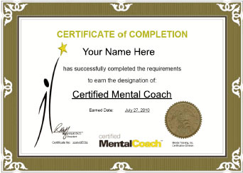 Online Mental Skill Coach Certification Course Certified Mental Coach